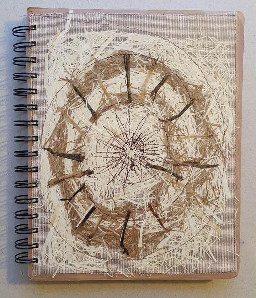 Carnet à spirale papier végétal