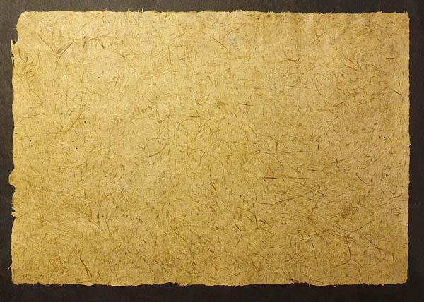 Papier végétal de Paille