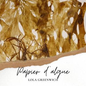 papier végétal d'algue